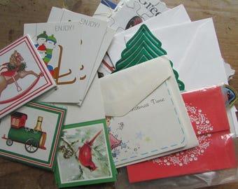 Gift Tags Vintage Christmas Gordon Fraser American Greetings Money Cards