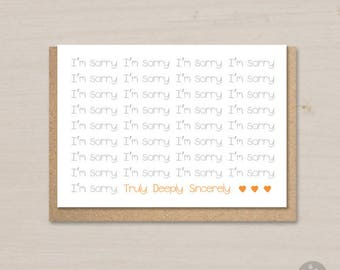 sorry card printable im sorry card sympathy card empathy card