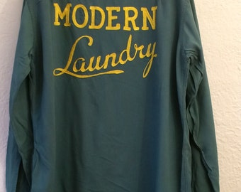 Vintage Men's Bowling Shirt Modern Laundry 50's