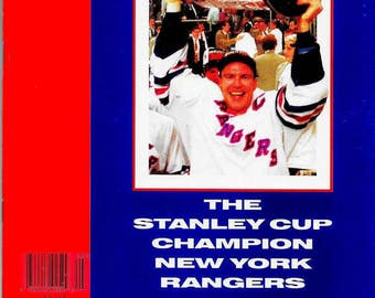 special collectors edition sports illustrated 1994 mark messier brian leetch adam