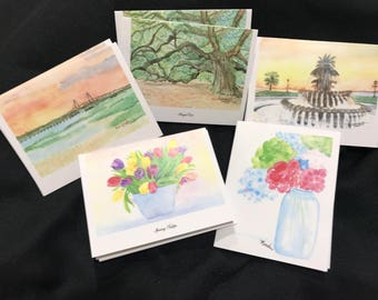 Set of 10 Notecards with Envelopes