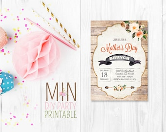 Mothers day brunch invitation,Mothers Day Brunch Invitation,Mother Day Lunch,Mothers Day Invite,Mother's Day Brunch,Mothers Day Luncheon