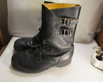 Vintage Military Combat Boots Yugoslavian Army