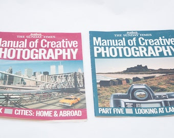 1989 Manual of Creative Photography Parts 5 and 6 The Sunday Times