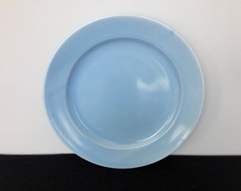 Vintage Santa Anita Ware Pale Blue Dinner Plate