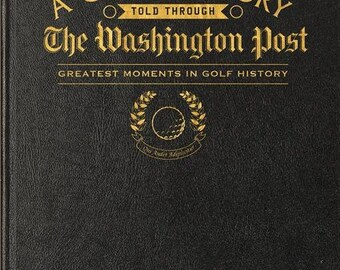 Washington Post Golf Book - Leather