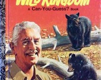 Wild Kingdom A Little Golden Book