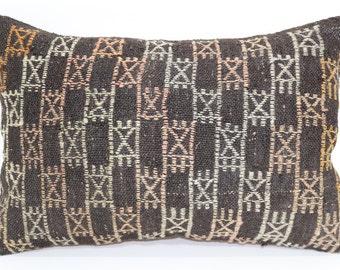 16x24 Embroidered Kilim Pillow Sofa Pillow Home Decor Cushion Cover 16x24 Decorative Kilim Pillow Cushion Cover  SP4060-399