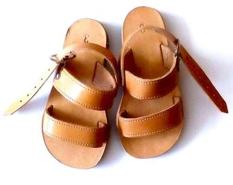 Baby girl shoes, Handmade leather shoes, Children gifts, Sandals for babies, Baby barefoot sandals, Greek sandals, Gift for kids, Handmade