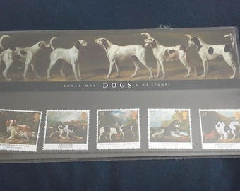 Royal mail stamps Dogs stamp presentation pack No215