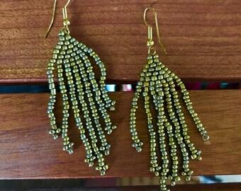 Tanzanian Handmade Chandelier Earrings