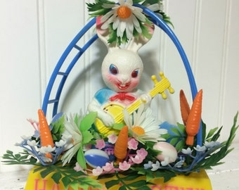Creepiest Easter Bunny Ever! And of Course He's  Playing the Banjo!
