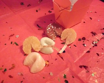 Fortune Cookie Take Out Soap (8 Cookie soaps per box)
