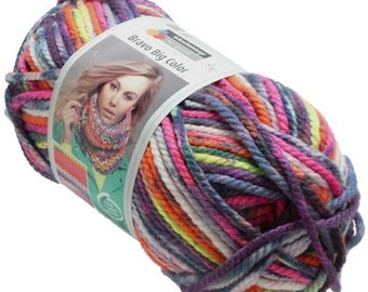 Bravo Big Color knitting wool Pastel