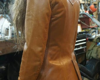 Soft Leather Womens Leather Jacket Medium