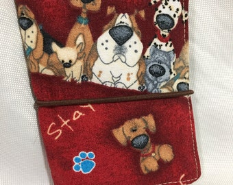 Puppy Dog Credit Card/Business Card Holder/Wallet