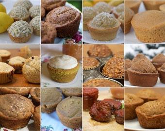 Gluten Free Muffins eCookbook - Dairy, Nut and Gum Free - Including FREE Flour Blend Recipe