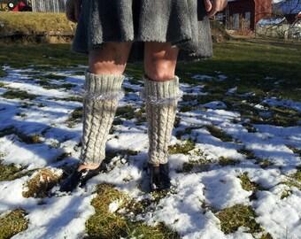 Knitted Leg Warmers, Women's Leg Warmers