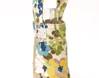 2 Bottle Carriers - Florals