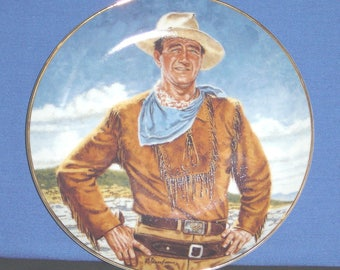 The Duke ~ by Robert Tannenbaum Collector Plate with Certificate - Pre-owned (SS)