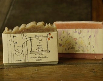 Bridal Shower Soap | Soap Favors, Custom Soap, Custom Made Soap, Custom Labels, Shower Soap, Wedding Soap, Party Soap,
