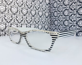 Reading Glasses Made with Swarovski Crystals 1.00 +1.50 +2.00  +2.75