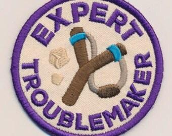 Adventure Merit Badges - Expert Troublemaker