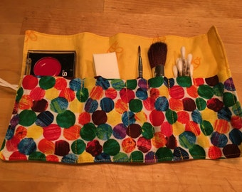 """POLKA DOT Pretend Make-up Roll - play """"make-up"""" included!"""