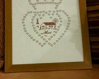 """Framework """"Heart Vendeen"""""""