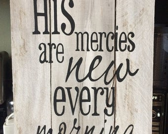 Mercies Scripture