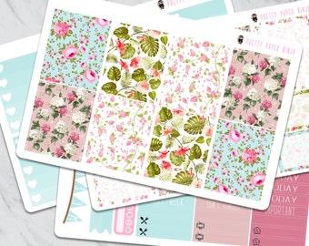 Tropical Florals Sticker Set