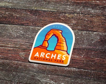 Arches National Park - Vinyl Sticker