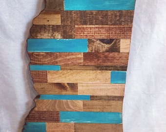 Mississippi Cut Out - Wood Art - Made to Order