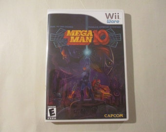 Mega Man 10 (WiiWare) Custom WII Case (NO GAME)