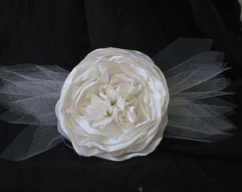 Ivory Peony and Tulle