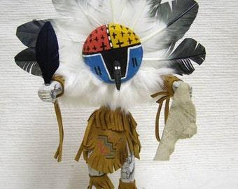 Native American Navajo Made Chief Kachina Doll