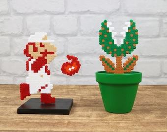 Super Mario Bros, Pixel Art Set, Piranha Plant, 8 Bit Art