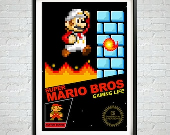 Retro Wall Art nerd art | etsy