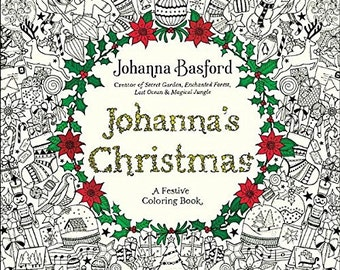 "Coloriage Coloring Book""Johanna's Christmas: A Festive Coloring Book for Adults""[0143129309]"