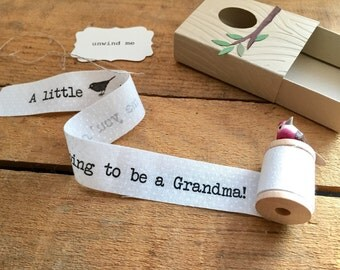 Pregnancy Reveal to Grandparents, You're Going To Be A Grandma, Pregnancy Announcement, Pregnancy Reveal to Family
