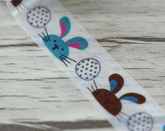 Washi Tape - Bunny Washi Tape - Rabbit Washi Tape - Paper Tape - Planner Washi Tape - Washi - Decorative Tape - Deco Paper Tape