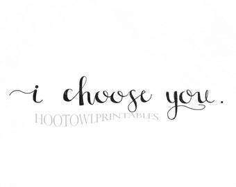 Love Printable, Wedding Print, Love Quote, Wedding Quote, Digital Download, Instant Download