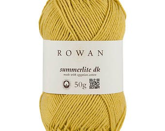 Rowan Summerlite DK yarn made with egyptian cotton 50g ref 9802191