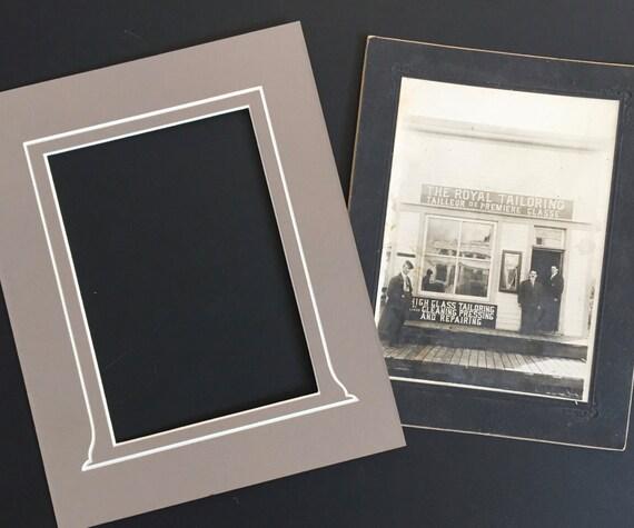 8 x 10 Vintage Style Photo Mat