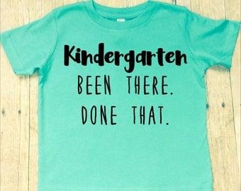 Boys Kindergarten Graduation Shirt-Kindergarted Graduate T-Shirt--Last Day of School Shirt-Kindergarten Promotion-Funny Kindergarten Shirt