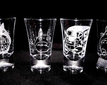 Totoro Shot Glass Set