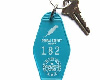 Penpal Society Key Tag