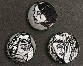 Triple Threat - Emotional Baggage Trio - SAD Patch