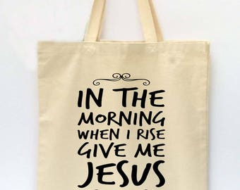 Tote Bag, Beach Tote, Reusable Grocery Bag, Market Tote Bag, Christian Tote Bag, Canvas Tote Bag, Printed Tote Bag, Shopping Bag