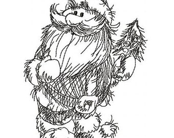 Santa Claus - MACHINE EMBROIDERY DESIGN
